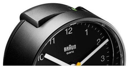 Budzik BRAUN alarm narastający mały BNC001BKBK
