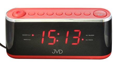 Budzik JVD SIECIOWY PROJEKTOR RADIO SB97.1