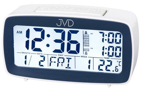 Budzik JVD termometr 7 KALENDARZ kalendarz SB82.2