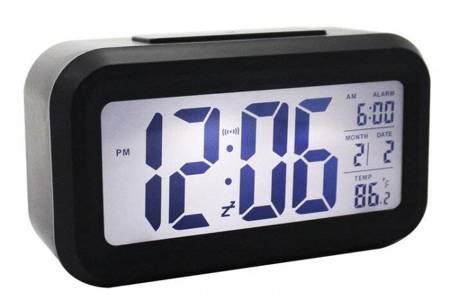 Budzik Xonix alarm temp. 13,5 cm GHY-510 BLACK