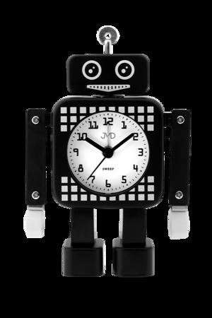 Budzik cichy dziecięcy robot  RUCHOMY SRP2304.3