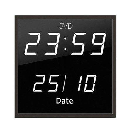 Zegar JVD 27x27 cm DUŻY sieciowy DH41.2