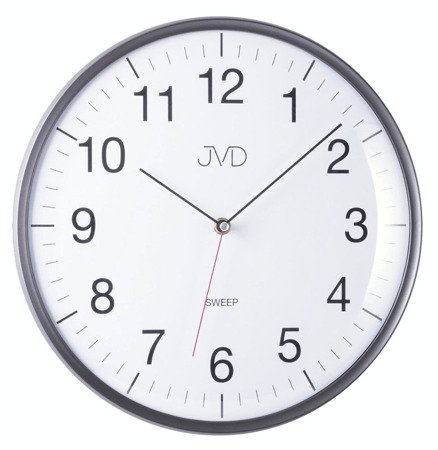 Zegar JVD ścienny 33 cm CICHY nowoczesny HA16.2