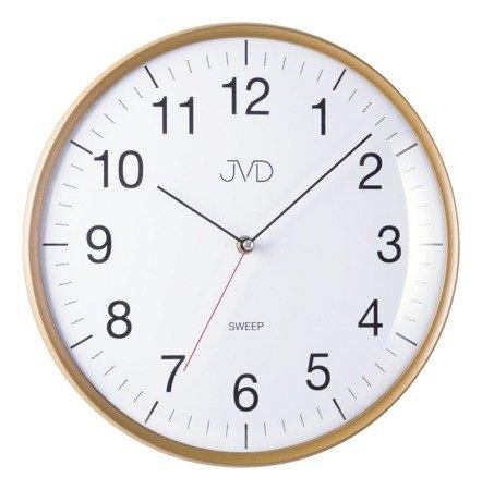 Zegar JVD ścienny 33 cm CICHY nowoczesny HA16.3