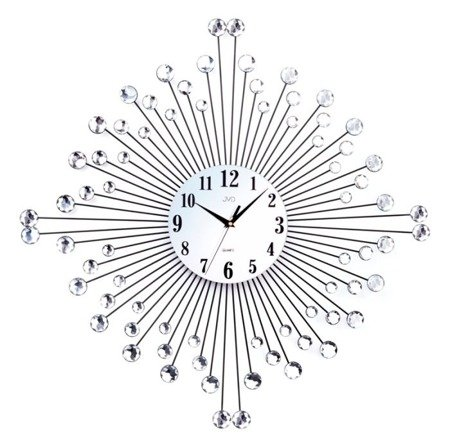 Zegar JVD ścienny BARDZO DUŻY 73cm DESIGNERSK HJ77