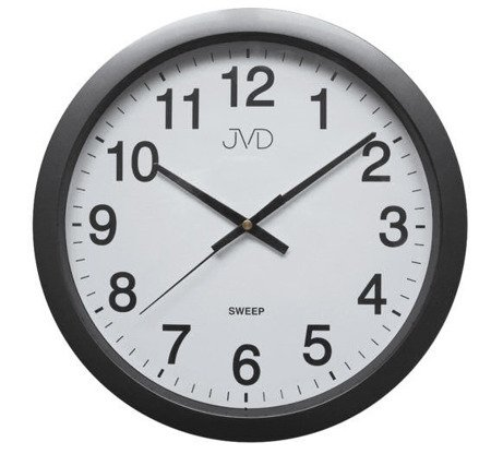 Zegar JVD ścienny CICHY czytelny HP611.2