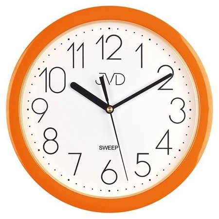 Zegar JVD ścienny CICHY czytelny HP612.11