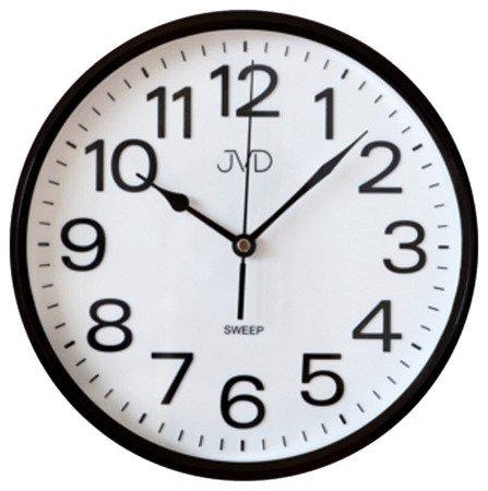 Zegar JVD ścienny CICHY czytelny HP683.5