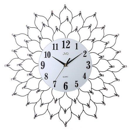 Zegar JVD ścienny DUŻY 66 cm KRYSZTAŁY HJ93