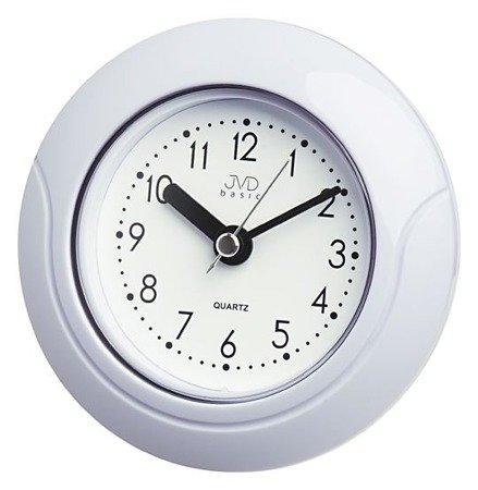 Zegar JVD ścienny ŁAZIENKOWY 13,5 cm cichy SH33.1