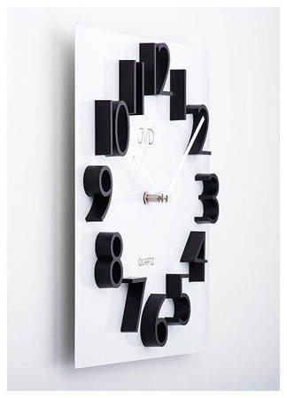 Zegar JVD ścienny METAL MAGNES nowoczesny  HB17
