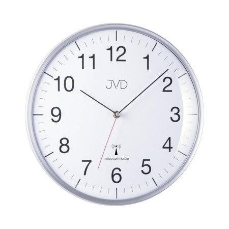 Zegar JVD ścienny STEROWANY RADIOWO 33 cm RH16.1