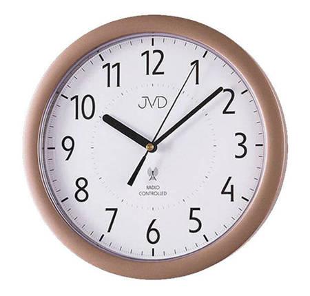 Zegar JVD ścienny STEROWANY RADIOWO RH612.10
