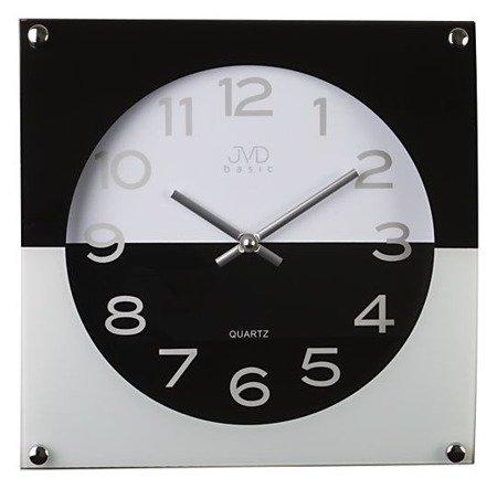 Zegar JVD ścienny SZKŁO N28114.2