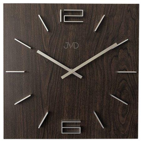 Zegar JVD ścienny drewniany duży 35 cm HC30.3