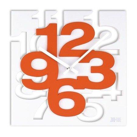 Zegar JVD ścienny nowoczesny przestrzenny 3D H106.1