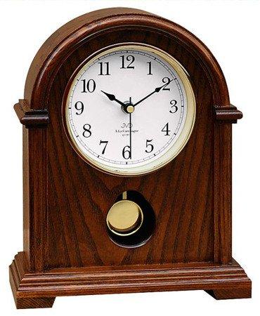Zegar JVD stojący kominkowy drewniany z kurantami HS13.1