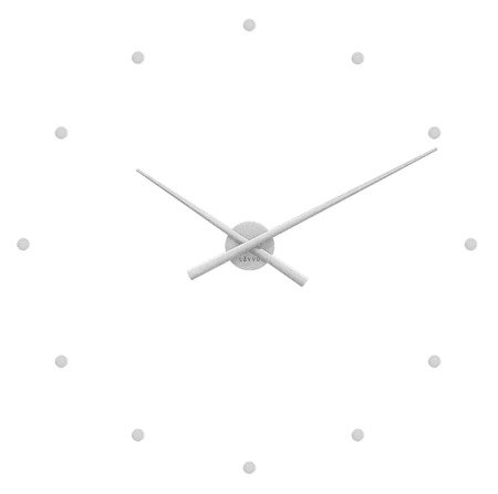 Zegar LAVVU DIY ścienny naklejany 75 cm LCT1020