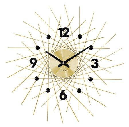 Zegar LAVVU ścienny KRYSZTAŁY duży 50 cm LCT1053