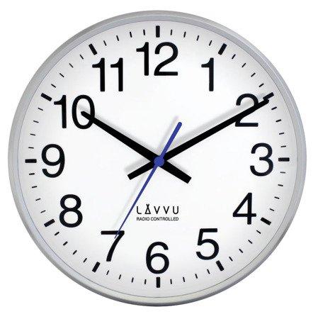 Zegar LAVVU ścienny STEROWANY RADIOWO LCR2010