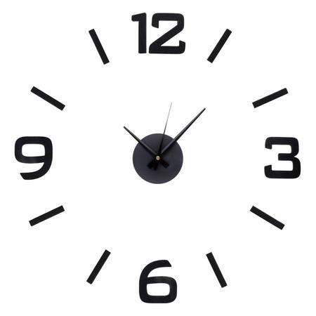 Zegar MPM ŚCIENNY naklejany czarny 50 cm E01.3509