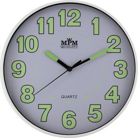 Zegar MPM ścienny 25 cm NEOBRITE nowoczesny E01.3684.00