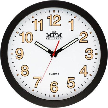 Zegar MPM ścienny 30 cm NEOBRITE nowoczesny E01.3104.9000