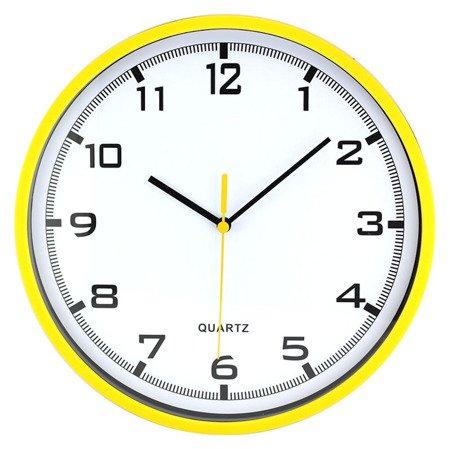 Zegar MPM ścienny żółty 26 cm E01.2478.10.A