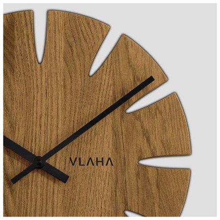 Zegar VLAHA ścienny RĘKODZIEŁO drewniany VCT1015