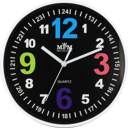 Zegar dziecięcy 20 cm nauka godzin edukacyjny kolorowy E01.3686.90