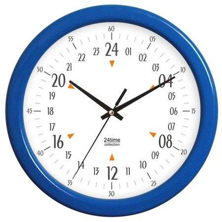 Zegar ścienny 24-godzinny średni ATE950H24Y BL