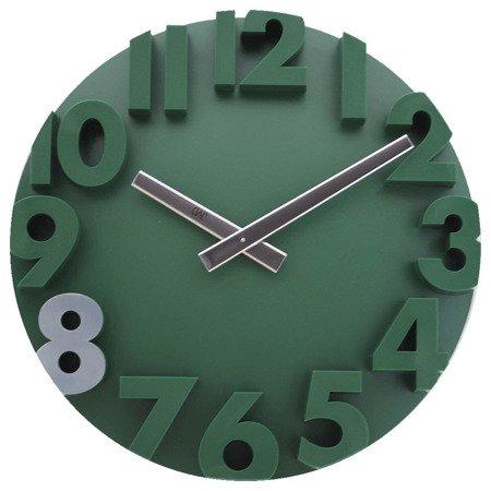 Zegar ścienny JVD nowoczesny 3D tworzywo HC16.2