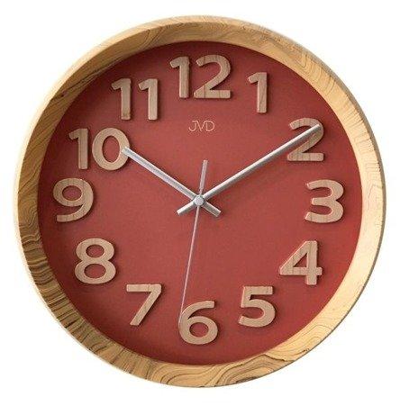 Zegar ścienny JVD nowoczesny nowy model HT073.1