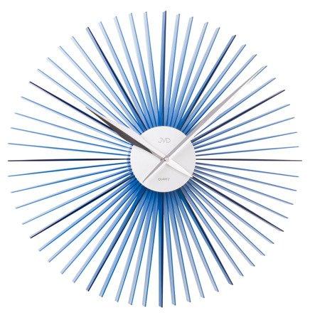 Zegar ścienny JVD nowoczesny tworzywo metal HT96.3