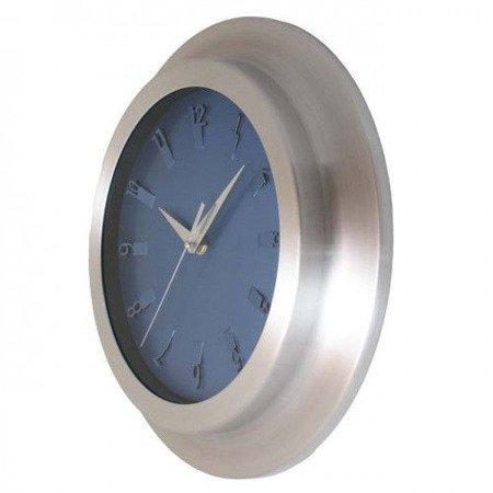 Zegar ścienny aluminium średni 33 cm AL2029 SW
