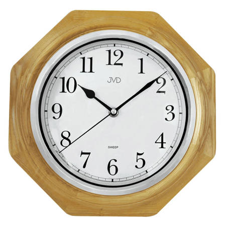 Zegar ścienny drewniany dąb klasyczny NS71.1