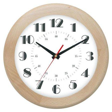 Zegar ścienny drewniany jesion 30 cm ATW301E