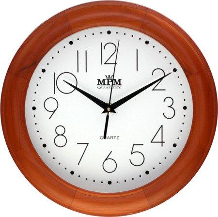 Zegar ścienny drewniany klasyczny E01.2473.51.W