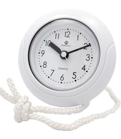 Zegar ścienny lub stojący wodoodporny mały RD333 White