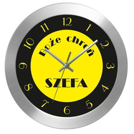 Zegar ścienny prezent DLA SZEFA AL2412SE2