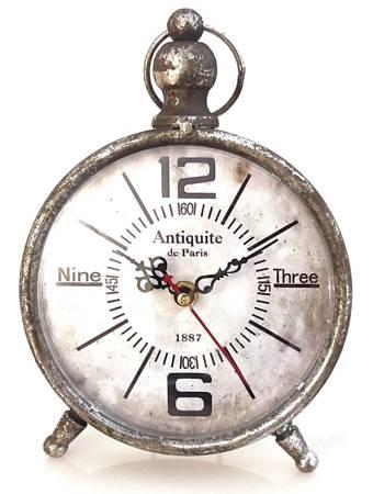 Zegar stojący KOMINKOWY retro LOFT MOS-17121